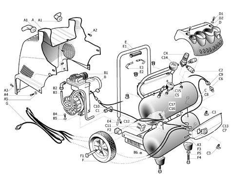 husky h1504st2 air compressor parts husky parts