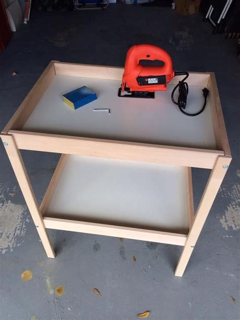 How To Make 2 Play Tables From An Ikea Changing Table Play Changing Table