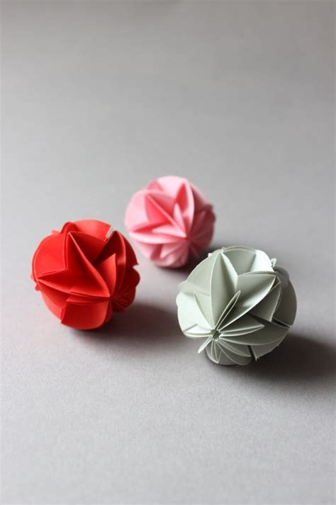 Decorations Origami Folding - best 25 origami ideas on paper balls