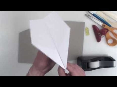 Paper Folding Record - how to fold the world record paper airplane doovi