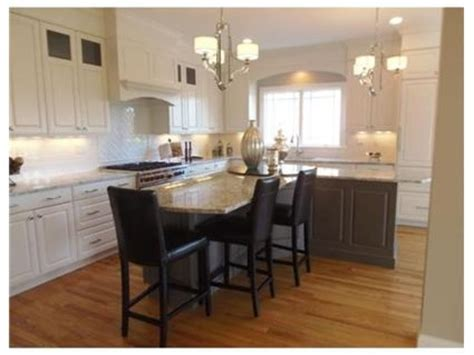 t shaped kitchen island t shaped island kitchens