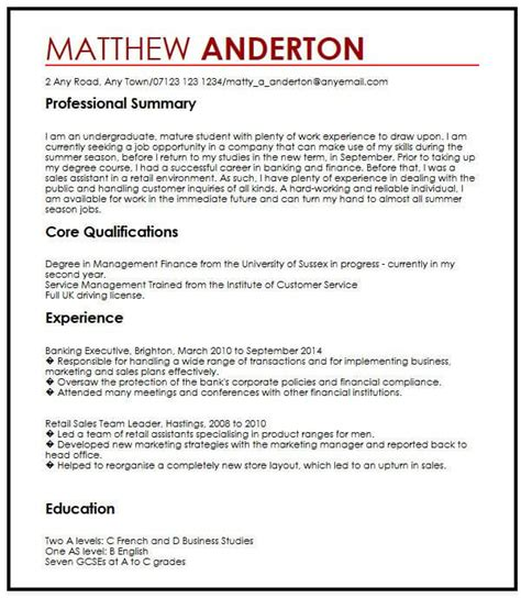 how to write resume for part time job 2 sample resume objectives