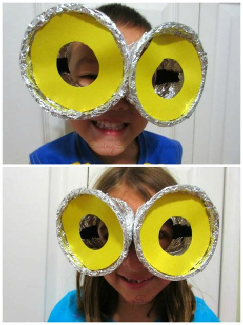 minion diy crafts diy despicable me minion goggles craft raising whasians