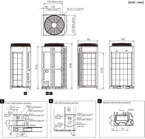 Ac Vrv Fujitsu airstage vrf systems vr ii series ajya72lalh