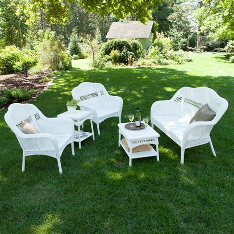 White Resin Patio Furniture by Outdoor Furniture Patio Sets Shop At Hayneedle