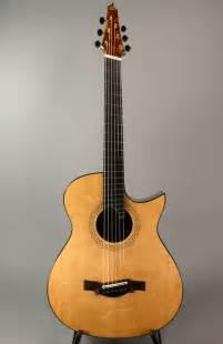 fanned fret acoustic guitar new somogyi 000 12 custom 000 12c fan fret acoustic