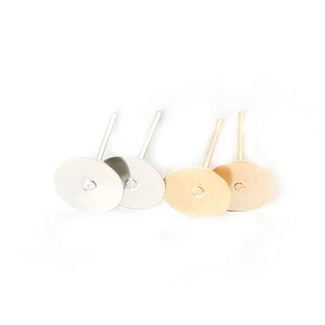 earring posts for jewelry multi 300 500pcs lot gold silver plated earring stud ear