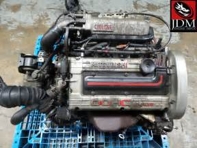 88 92 Mitsubishi Mirage Dodge Colt 1 6l Dohc Turbo Engine