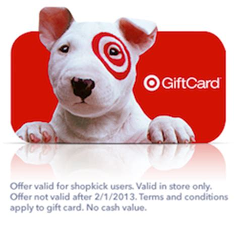 Target Gift Card Text Message - free 2 target giftcard from shopkick