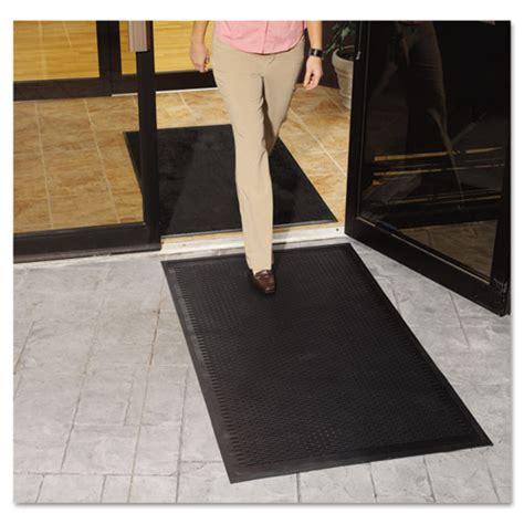 Outdoor Doorstep Mats Clean Step Outdoor Rubber Scraper Mat Polypropylene 36 X