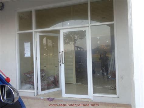Pintu Kusen Alumunium jual pintu dan jendela aluminium teguh karya kaca