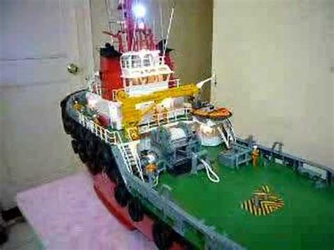model boats hong kong hong kong rcmodel tug boat youtube