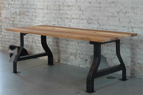 Reclaimed Wood Conference Table with Customizable Reclaimed Wood Conference Table Or Work Desk By