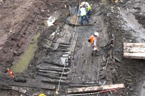 Mystery At Crown Island mystery of 1700s boat found at world trade center site