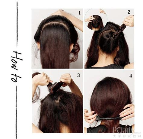 diy a line hairstyles for women making a bob hairstyle using a quot bob hair tool quot hair