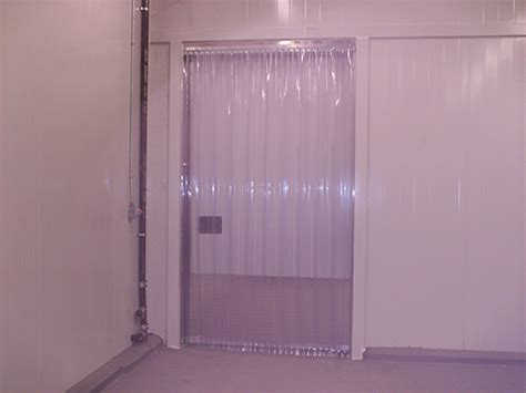 strip curtains for coolers cooler and freezer strip doors strip curtains com
