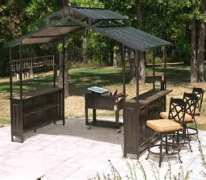 Dunkirk Grill Gazebo Bar Stools by New Large Steel Frame Grill Gazebo Outdoor Bar Vented Hard