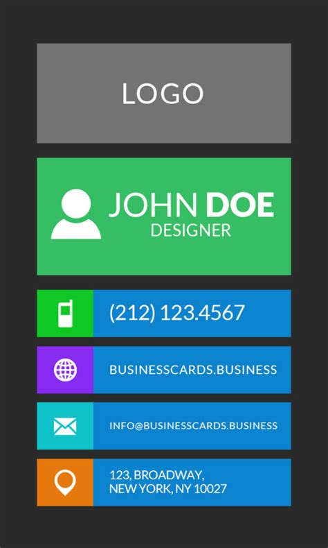 Free Flat Card Templates by Free Flat Business Card Template Business Cards Templates