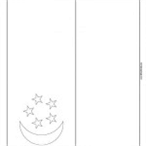 turkey flag coloring page free printable