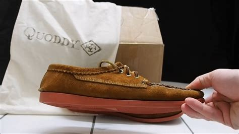 quoddy boat shoes review quoddy blucher initial impressions review youtube