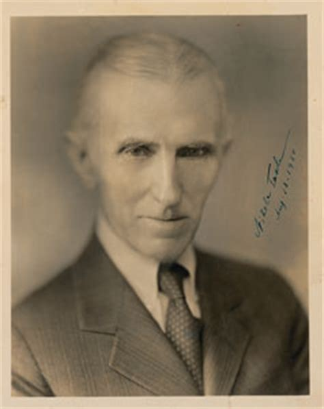 Nikola Tesla Signed Rr Auctions Nikola Tesla Signed Photo Rr Autograph Auction