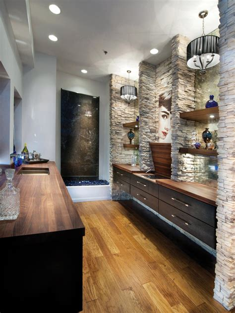 Shelves In Bathroom Ideas Designing Bathroom Lighting Hgtv
