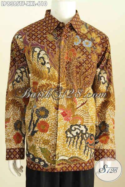 Jual Baju Big Size Pria jual pakaian batik premium baju batik pria big size istimewa daleman furing