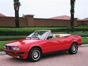 1986 Maserati Spyder 1986 Maserati Biturbo Spyder In 1 18 Scale By Minichs