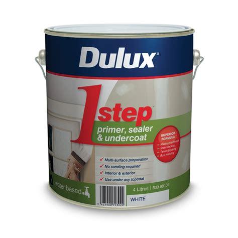 Sealer Dulux Dulux 1 Step 4l White Primer Sealer Undercoat Acrylic