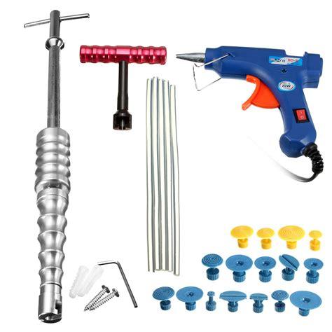Pdr Kit 25pcs pdr tools kit hail repair glue puller paintless dent