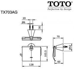 Gantungan Baju Toto Tx704aezv1 toto toko perlengkapan kamar mandi dapur