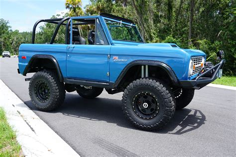 hoonigan truck ford bronco with a coyote v8 engineswapdepot com
