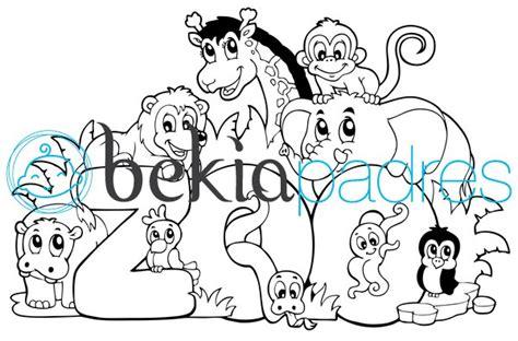 dibujos infantiles zoologico zoo dibujo para colorear