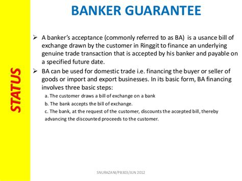 Letter Of Acceptance Bank Guarantee Chapter 3 Commercial Bank