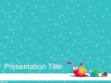 flower background powerpoint template 4747
