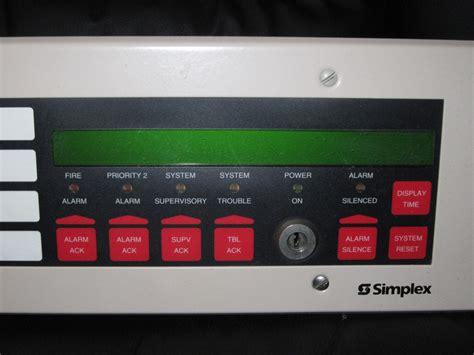 Alarm Simplex simplex alarm panel www pixshark images