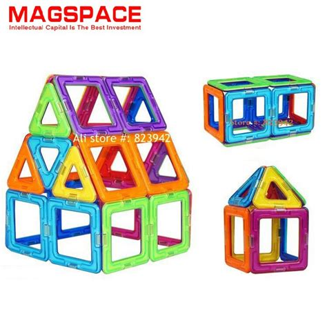 magnetic home design kit 30pcs magspace 3d magnetic model building kit diy forge
