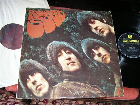 Beat Pop Cover Inner Original popsike the beatles rubber soul original 1965 uk