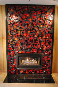 glass tile fireplace mhgc sitting room