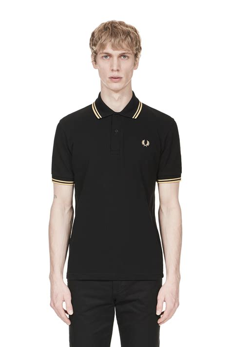 Fred Perry Fred Perry M12 Black Chagne Chagne