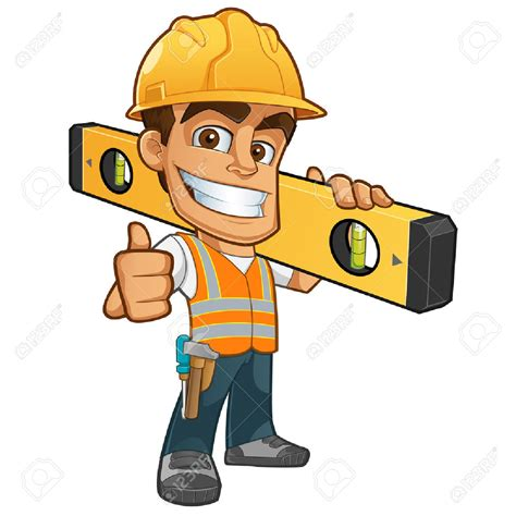 builder clipart cone clipart construction worker tool pencil and in
