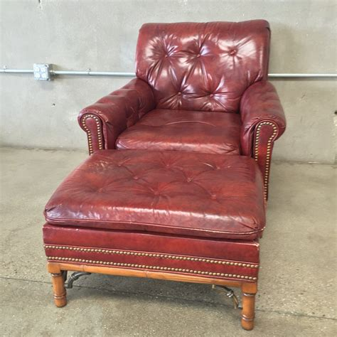red leather chair and ottoman dark red leather arm chair and ottoman urbanamericana