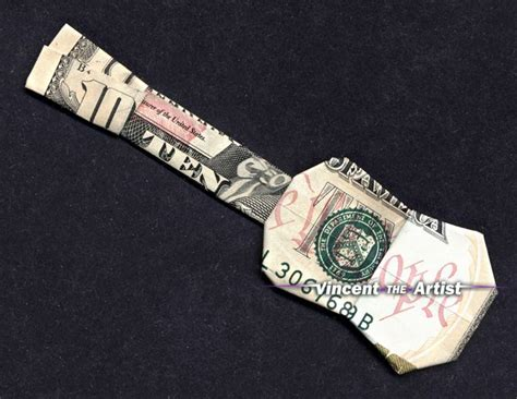 money origami guitar pin by nelson on dollar orgamis and money gifts