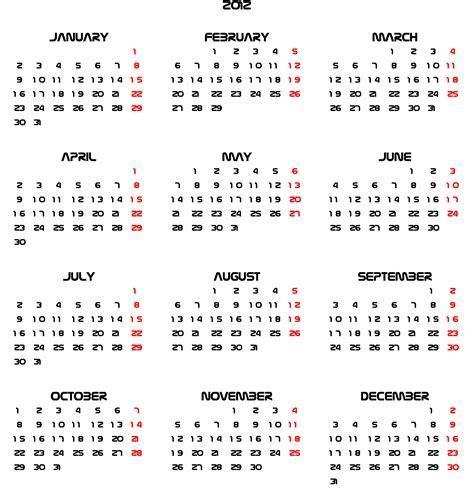 non printable fonts font nasalization calendars 2011 2012 simple calendar