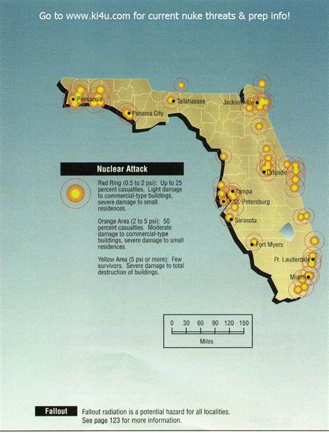 shelters in florida nuclear war fallout shelter survival info for florida with fema target maps