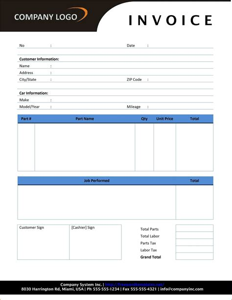 free invoice template microsoft word and 7 receipt template word