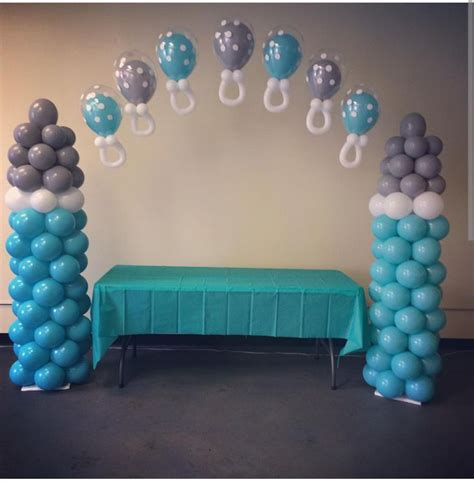 Baby Boy Balloons For Baby Shower by 20 Best Elephant Baby Shower Balloons Images On