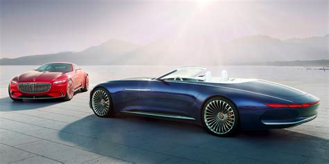 Maybach Concept Car by Vision Mercedes Maybach 6 Cabriolet Is The Future Of