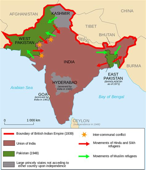 Nibras Emerland Pastan Syiria L 11 the proposed map of pakistan the partition of