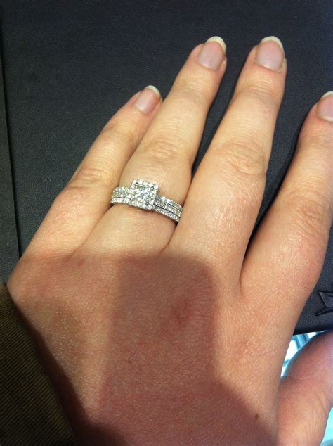 Wedding Bands Two by Anyone With Two Wedding Rings Show Me Weddingbee